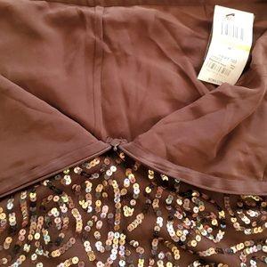 🔴🆕🏷NWT BCBGMaxAzria Sequin Tulle Skirt